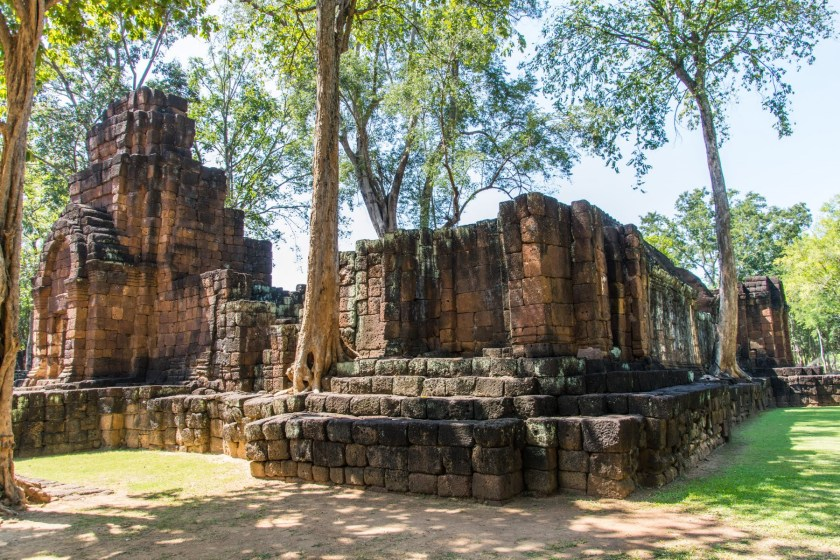ruine site historique prasat muang sing kanchanaburi