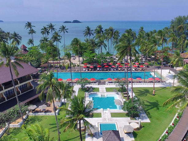 exterieur hotel the emerald cove ko chang