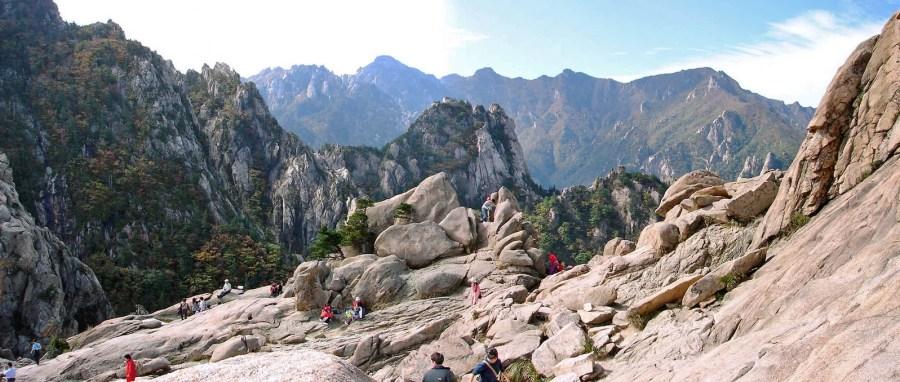 Mount Gwonggeumseong in Seoraksan National Park