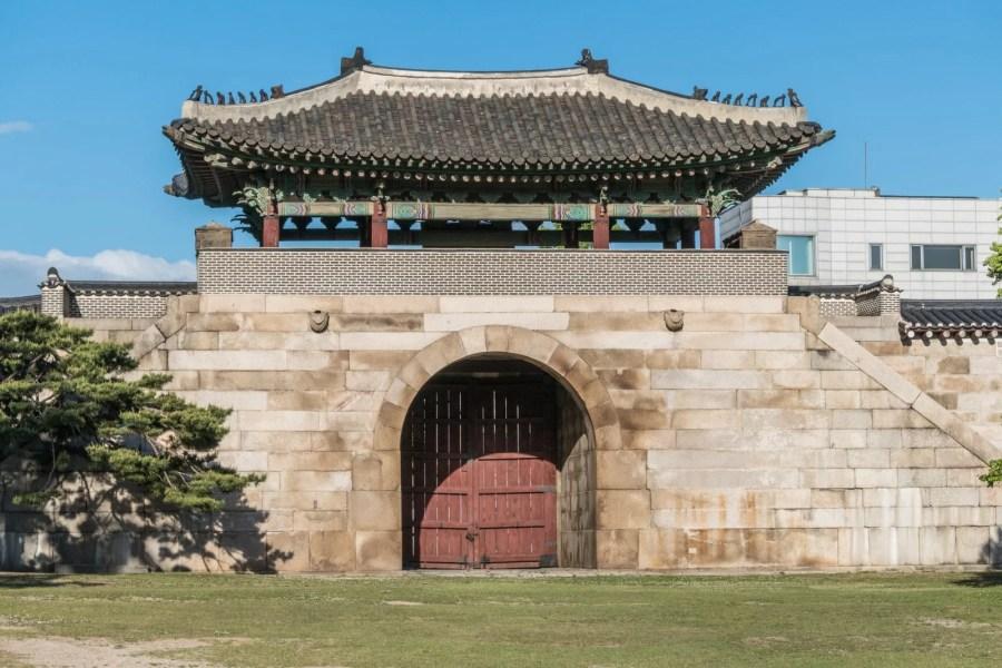 porte est geonchunmun palais gyeongbokgung seoul