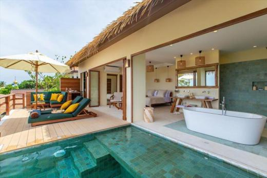 chambre Wild Cottages Luxury and Natural ko samui