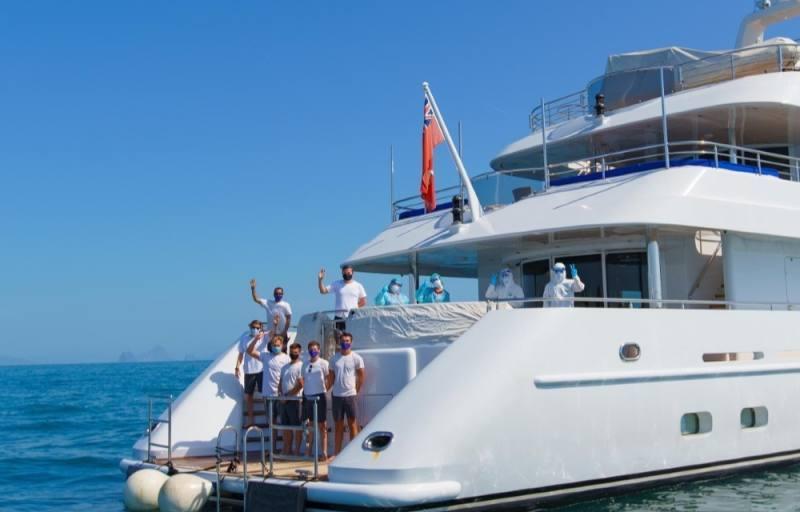 La Thaïlande pêche pour les touristes avec l'avantage de la quarantaine des yachts