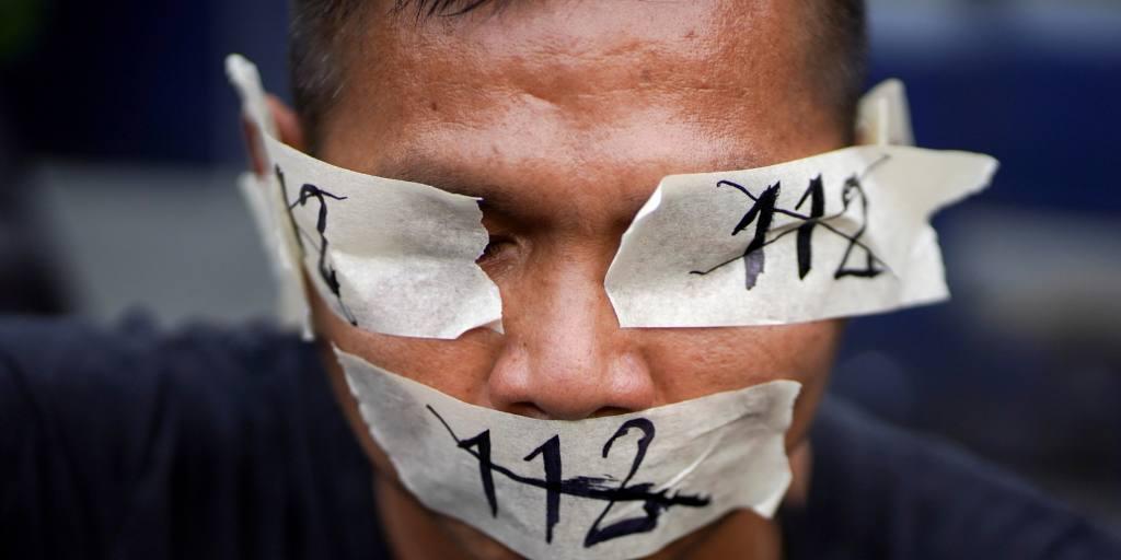 Les manifestations en Thaïlande s'effondrent alors que les dirigeants languissent en prison