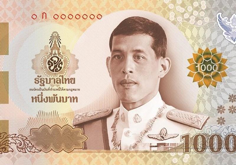 Thailand's new 1,000-baht banknote wins international award