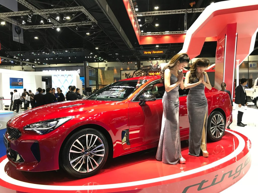Pretties at 2018 Motor Show