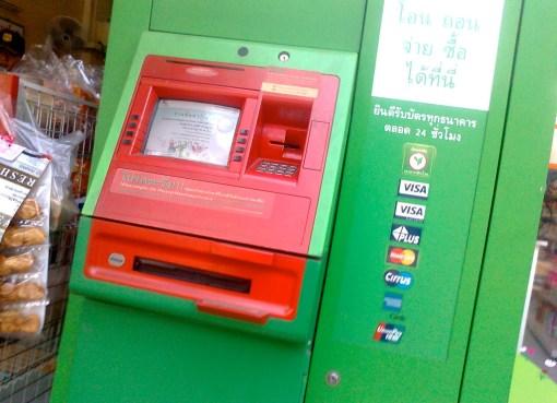 KBank ATM in Bangkok