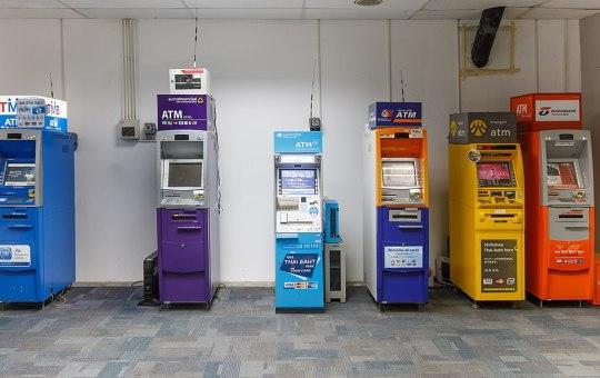 ATM machines at Phuket Airport