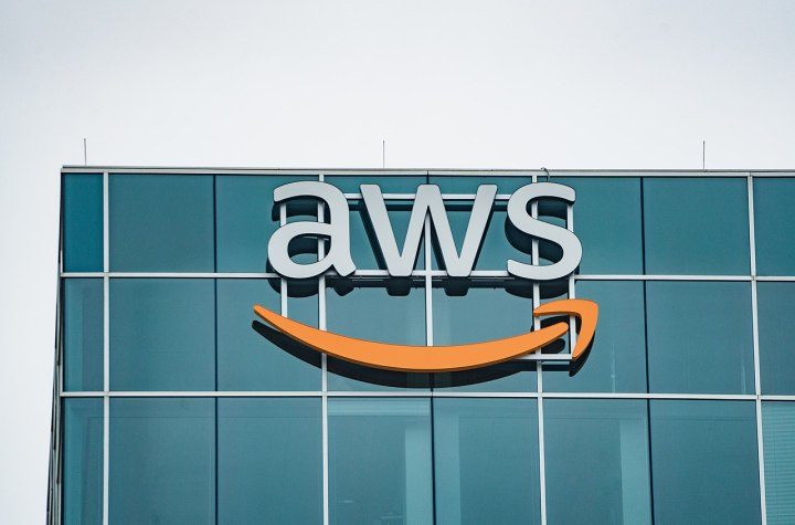 The Amazon Web Services (AWS) office at CityCentre Five, 825 Town and Country Lane, Houston, Texas (USA)