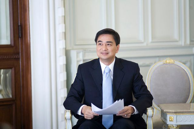 Abhisit says no to top brass in upper house