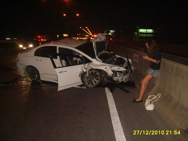 Bangkok tollway accident: Driver of sedan was a 16-year-old girl