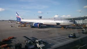 Aeroflot Boeing 777-300 ER in Moscow