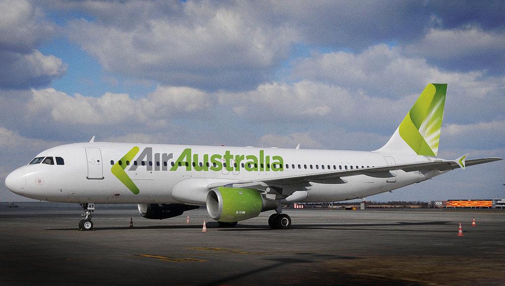 Air Australia Airbus A320 in Perth