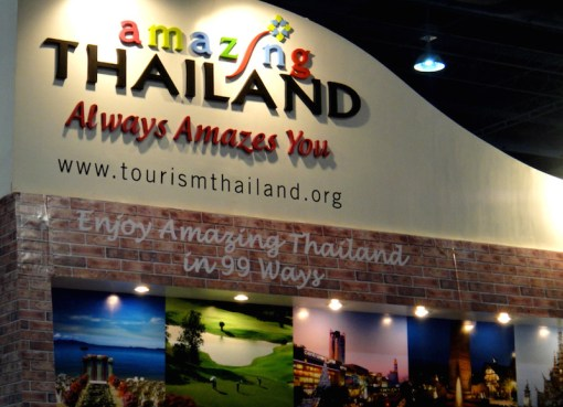 """Amazing Thailand"" Thailand Tourism booth"