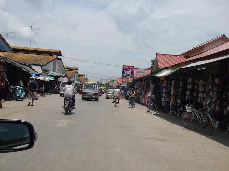 Rong Klua Market in Aranyaprathet