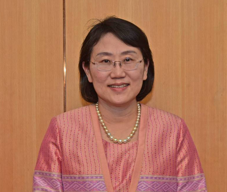Asst. Prof. Dr. Rungpetch Sakulbumrungsilp. Dean of the Faculty of Pharmaceutical Sciences, Chulalongkorn University