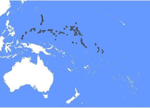 Australia and Oceania Micronesia