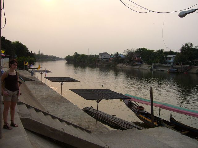 Hacked-up body found on Ayutthaya canal bank