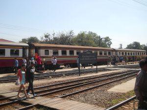 Ayutthaya train station