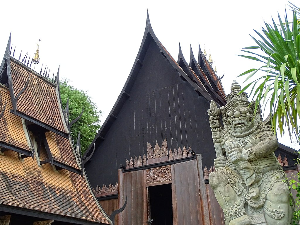Baan Dum (the Black House) by Thawan Duchanee