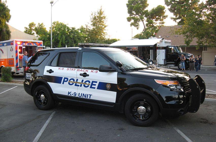 US Police Ford Explorer patrol cruiser