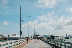 Bali Hai Pier in Pattaya, Chonburi