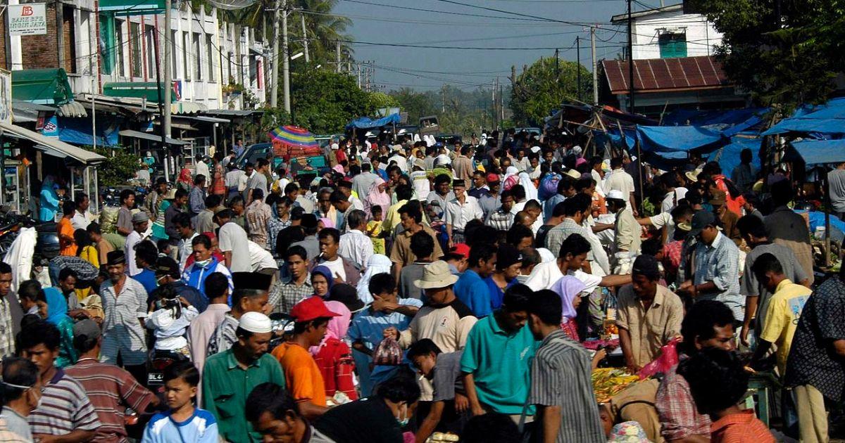 Market near Banda Aceh, Indonesia