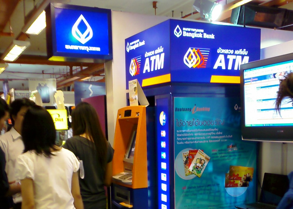 Bangkok Bank ATM at ComMart