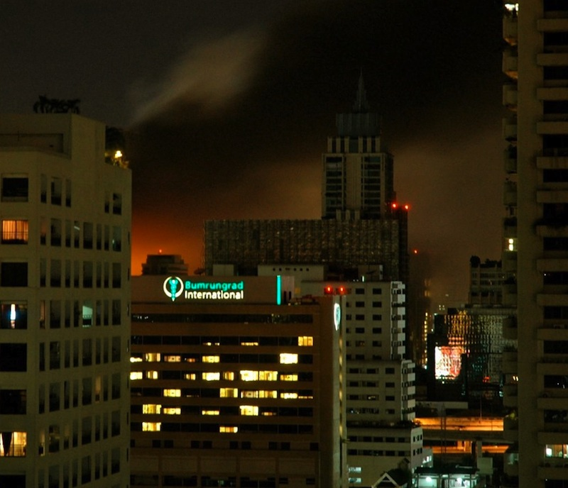Fire at CentralWorld