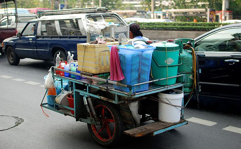 Mobile kitchen in Bangkok