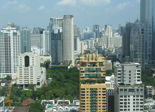 Central district of Bangkok