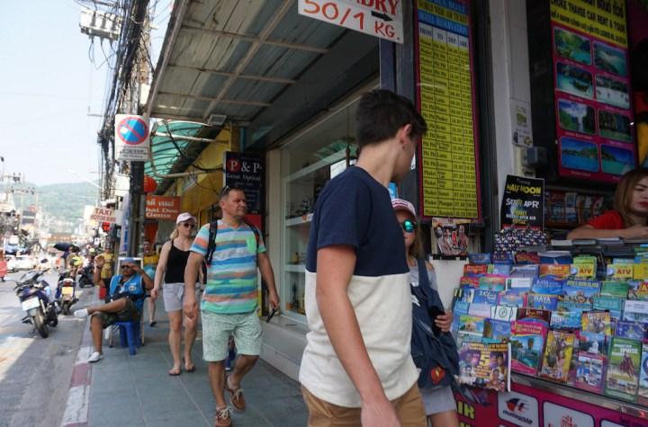 Bangla Road in Patong, Phuket