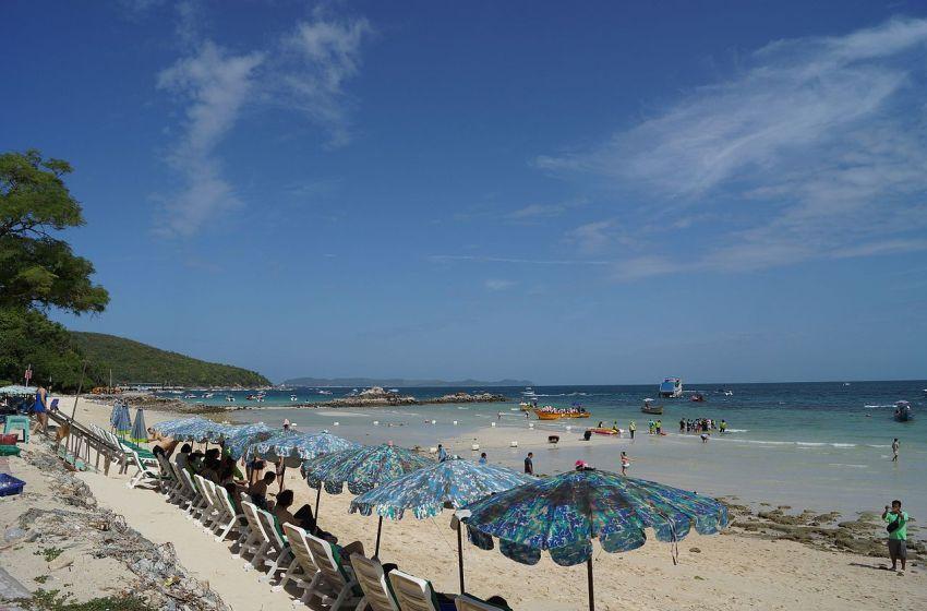 Beach in Banglamung District, Chonburi