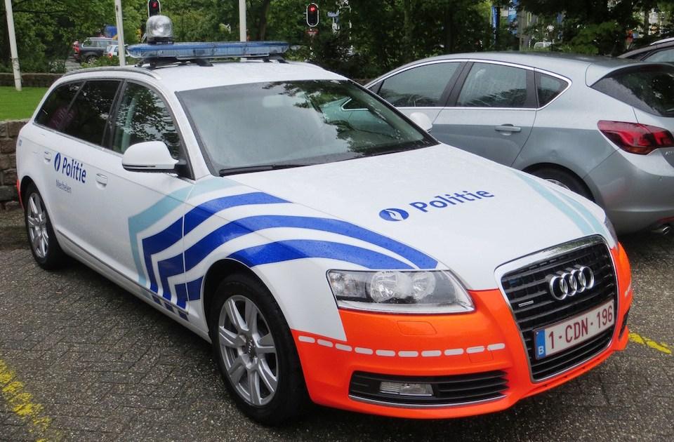 Belgian police car