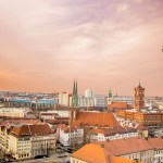 Berlin skyline and architecture