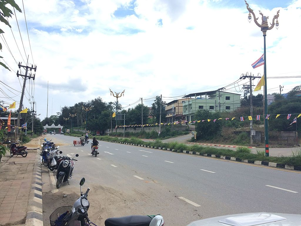 Betong District in Yala, Southern Thailand