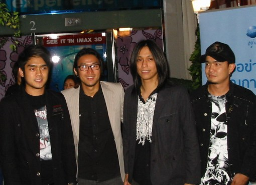 Thai band Bodyslam