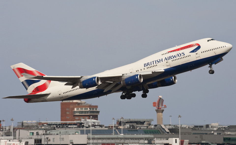 British Airways B747-436 at London Heathrow