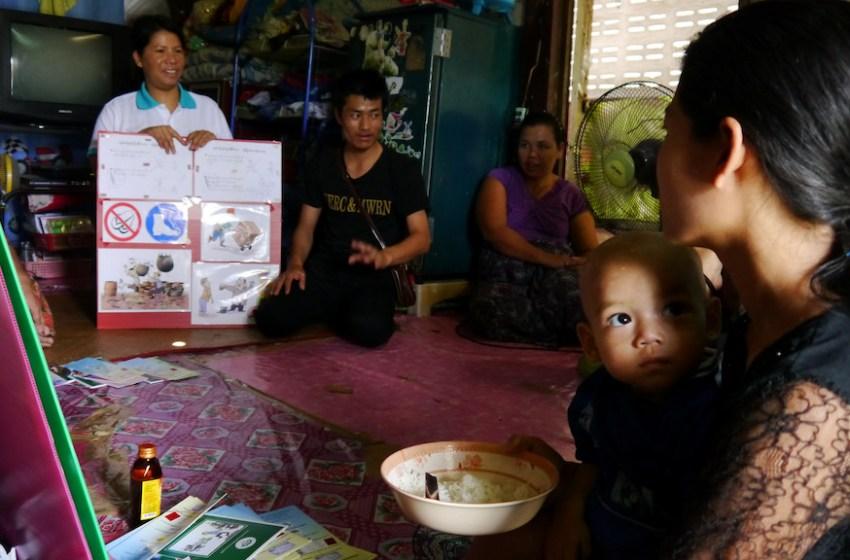 Burmese migrant workers in Thailand