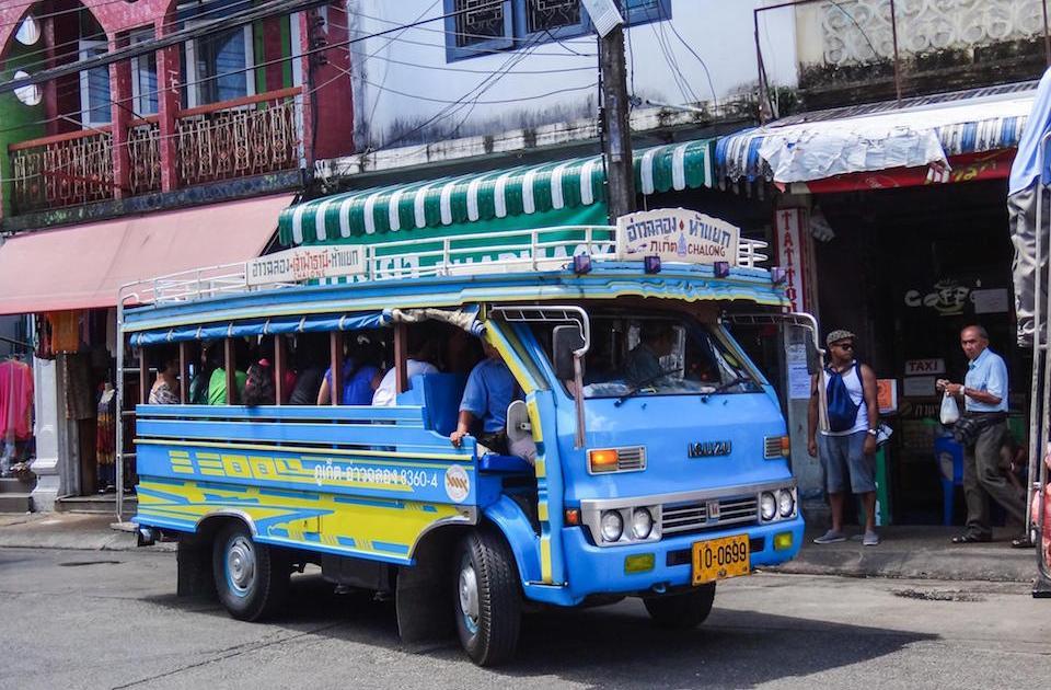 Bus in Phuket town