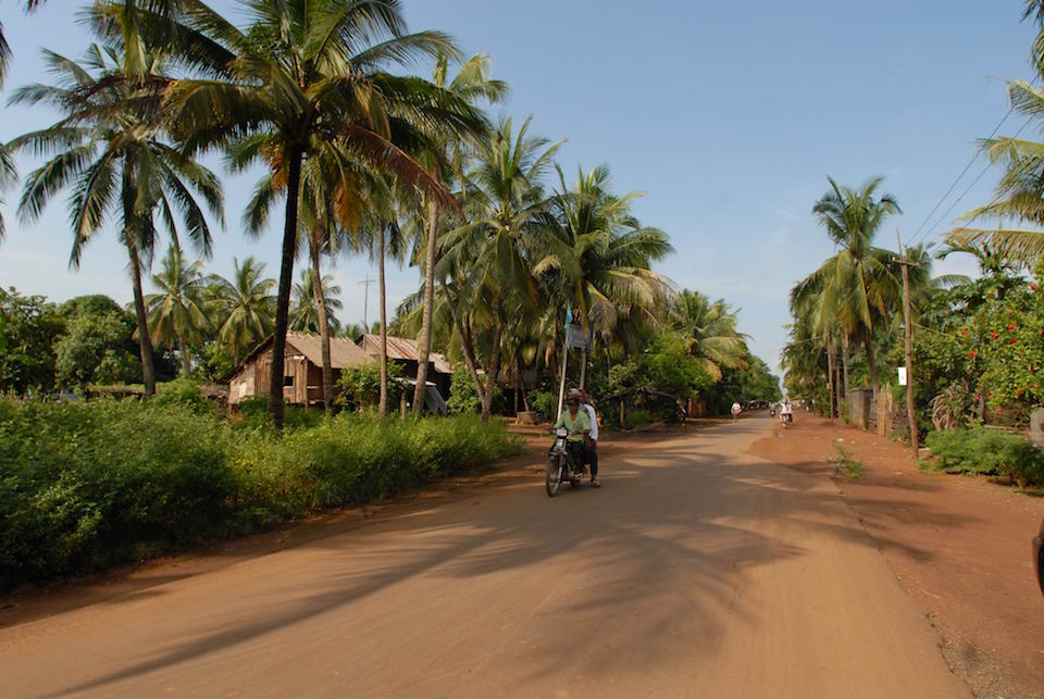 Cambodia Main Road