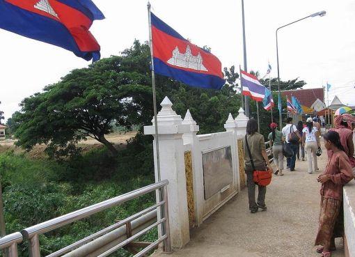Thai-Cambodian border, Poipet bridge