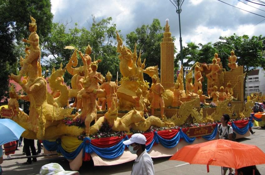Candle Festival in Ubon Ratchathani, Isan