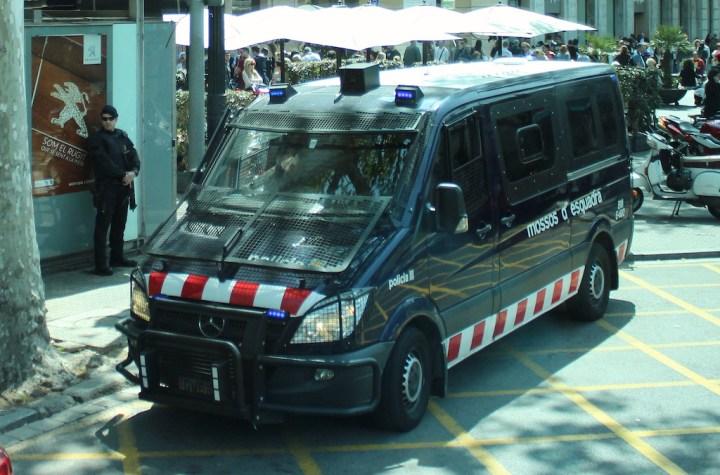 Catalan Police Mossos d'Esquadra Mercedes Benz Sprinter