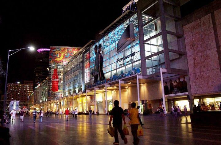 CentralWorld shopping center in Bangkok