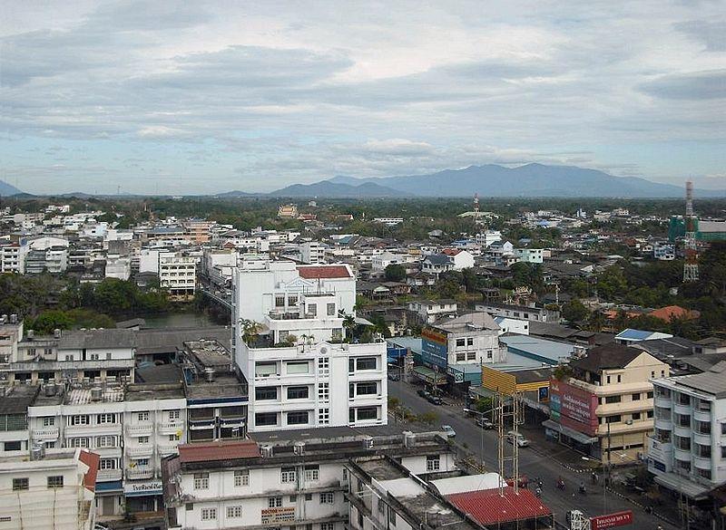 View of Chanthaburi city