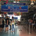 Chiang Saen Checkpoint Thailand-Laos Border Crossing