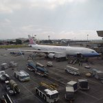 China Airlines aircraft at Manila Airport, Philippines