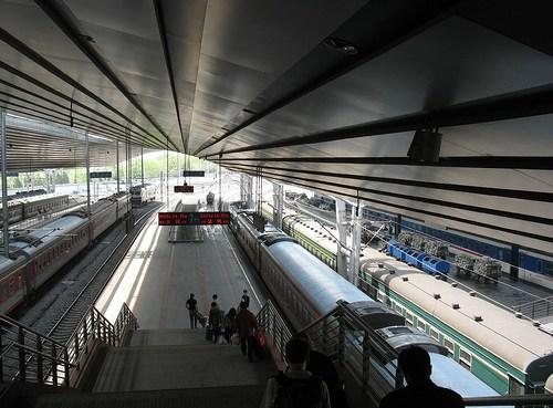 The Kunming Railway Station, China