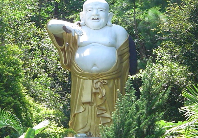 Chinese Buddha in Northern Thailand