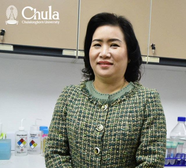 Chula Pharmaceutical Sciences Unveils New Innovation – PM2.5 Dust Fighting Spray, Associate Professor Passarapa Towiwat, Ph.D